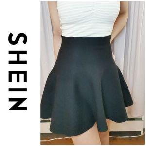 Final price drop! SHEIN Black Circle Skirt